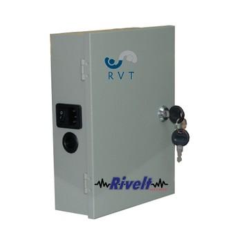 rvt Box di Alimentazione 12 Volt 15 Ampere con Funzione ups Batteria Inclusa 12 Volt 7 A